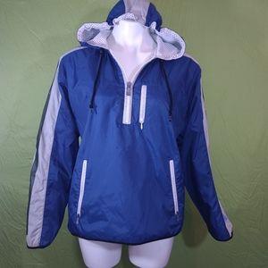Nike hooded pullover windbreaker